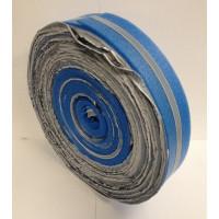 Randstrookisolatie 8 x 150 mm 50 meter met folieflap